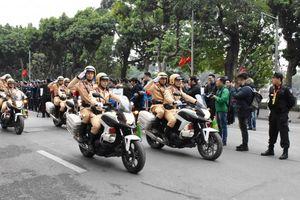 Ngày 5/1, Hà Nội tổ chức lễ phát động ra quân năm An toàn giao thông 2021