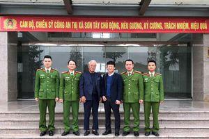 Công dân Hàn Quốc gửi thư cảm ơn Công an thành phố Hà Nội