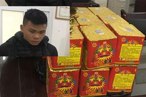 Công an huyện Mê Linh bắt giữ nhiều vụ vận chuyển trái phép pháo nổ