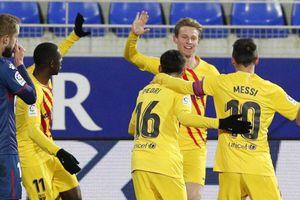 Messi kiến tạo, Barcelona thắng sát nút đội chót bảng