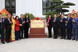 Khánh thành công trình Nhà văn hóa do TP Hà Nội tặng huyện Hữu Lũng