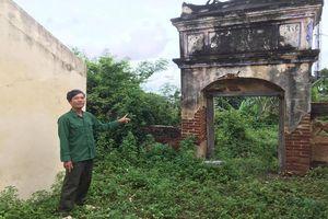 Huyện Ninh Phước đề nghị tỉnh cấp kinh phí sửa chữa
