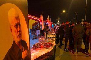 Hàng nghìn người Iraq tưởng nhiệm một năm ngày mất của tướng Qasem Soleimani