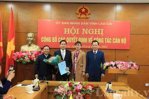 Công bố các quyết định bổ nhiệm cán bộ tỉnh Lào Cai