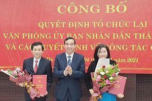 Đà Nẵng tái lập Văn phòng UBND thành phố