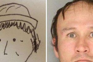 Phì cười với bức ảnh truy nã giúp cảnh sát tìm ra danh tính kẻ cướp