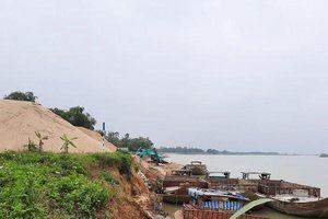 Hệ lụy sạt lở từ bến thủy nội địa và bến bãi tập kết cát ở Quảng Nam