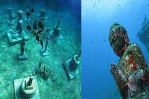 Tìm ra lời giải cho ngôi chùa và tượng phật 'ngàn năm tuổi' dưới đáy biển