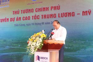 Thông tuyến cao tốc Trung Lương - Mỹ Thuận, khai thác tạm từ 7/2