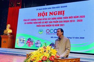 Bắc Giang: Vinh danh 49 sản phẩm OCOP và 38 tập thể xuất sắc trong xây dựng nông thôn mới