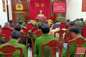 Công an huyện Như Xuân phát động phong trào thi đua 'Vì an ninh tổ quốc' năm 2021
