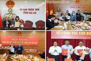 Lào Cai, Gia Lai, Hậu Giang kiện toàn nhân sự, bổ nhiệm lãnh đạo mới