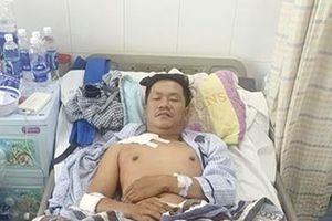Một 'hiệp sỹ' quả cảm truy bắt tội phạm bị thương nặng
