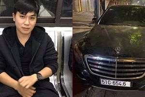Tạm giữ ôtô Mercedes S500 để điều tra vì 'xe không trùng biển số'