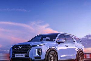 Hyundai Palisade chuẩn bị có bản hiệu suất cao