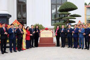Khánh thành công trình Nhà văn hóa do thành phố Hà Nội tặng huyện Hữu Lũng (Lạng Sơn)