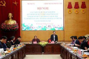 Lấy ý kiến về dự thảo Nghị định quy định mô hình chính quyền đô thị tại Hà Nội