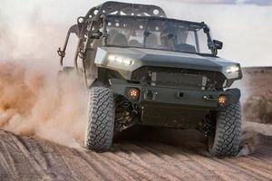 ISV - Bán tải Colorado phiên bản quân sự, 9 chỗ, giá quy đổi hơn 2,3 tỷ đồng