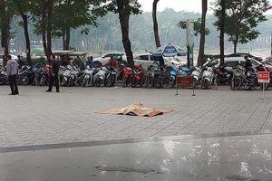 Một nam giới rơi từ tầng cao chung cư HH Linh Đàm xuống đất tử vong