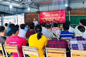 Quảng Ninh: Tăng cường tuyên truyền pháp luật cho thanh niên