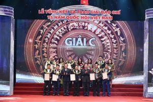 Trao Giải báo chí '75 năm Quốc hội Việt Nam' lần thứ hai