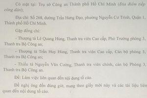 Vụ CSGT Tân Sơn Nhất bị tố vòi tiền: Phải cấp cao hơn mới công tâm?