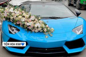Lamborghini Aventador Roadster hơn 37 tỷ rước dâu tại Hải Phòng