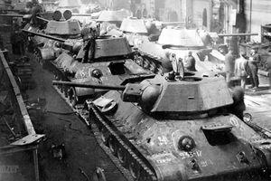 Bí mật đằng sau số lượng xe tăng T-34 nhiều vô kể của Liên Xô