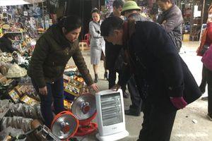 Lạng Sơn 'nóng' thiết bị chống rét