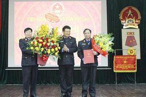 Đồng chí Nguyễn Huy Tiến dự Hội nghị công tác cán bộ VKSND tỉnh Bắc Giang