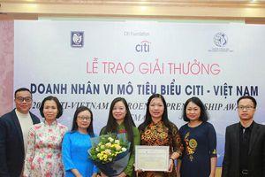TYM được trao giải Tổ chức tài chính vi mô tiêu biểu Citi - Việt Nam 2019