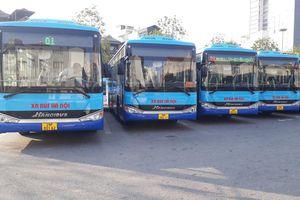 Thông báo thay mới phương tiện trên một số tuyến xe buýt của Transerco
