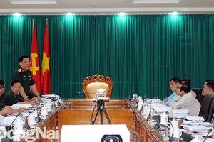 Rà soát công tác chuẩn bị cho hội thảo khoa học 60 năm Ngày thành lập Quân giải phóng miền Nam Việt Nam