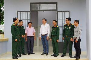 Bàn giao 6 nhà làm việc cho Ban Chỉ huy Quân sự xã, phường