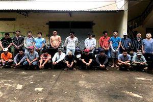 Bắt 22 người đá gà ở Đồng Nai