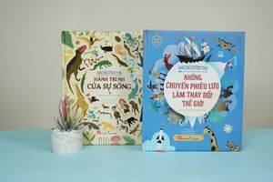 Bộ sách khuyến khích trẻ em khám phá thế giới
