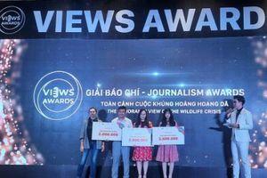 Lần đầu trao giải VIEWS Awards 2020 về bảo vệ động vật hoang dã