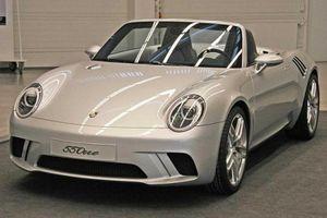 Porsche 550one - siêu xe mui trần chưa bao giờ được tiết lộ