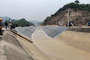 Thông dòng kênh 4.300 tỷ đồng ở Thanh Hóa sau sự cố nứt vỡ
