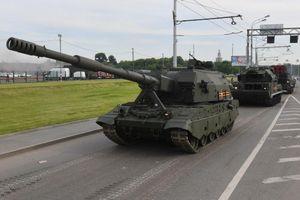 Sư đoàn Taman sẽ được tăng cường pháo tự hành Koalitsiya-SV vào năm 2021