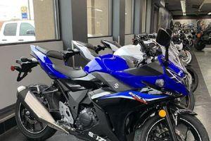 Suzuki GSX250R ABS 2021 'chào sân' thị trường mô tô sportbike, giá từ 129 triệu đồng