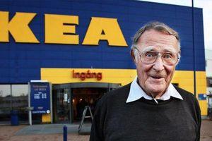 Tỷ phú Ingvar Kamprad- Từ 2 bàn tay trắng thành lập đế chế đồ gỗ IKEA