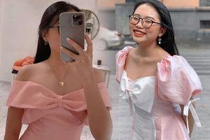 Đón 2021, Phương Mỹ Chi thêm tuổi thêm gợi cảm: Tự tin diện váy trễ nải không thua đàn chị