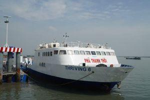 TP.HCM: Quy định giá tối đa dịch vụ sử dụng phà biển tuyến Cần Giờ - Vũng Tàu