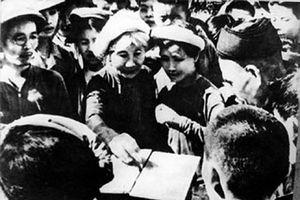 75 năm Ngày Tổng tuyển cử bầu Quốc hội: Bài học về niềm tin ở nhân dân