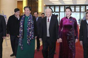 Hình ảnh: Lãnh đạo Đảng, Nhà nước dự gặp mặt Đại biểu Quốc hội các thời kỳ