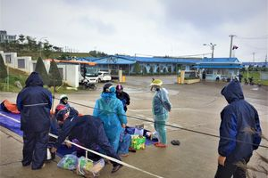 Nhà máy thép Hòa Phát Dung Quất lại nhả khói, bốc mùi khét lẹt
