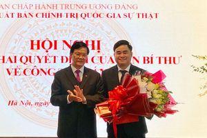 Đồng chí Phạm Minh Tuấn là tân Giám đốc, Tổng Biên tập Nhà Xuất bản Chính trị quốc gia - Sự thật
