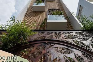 Nhà tổ chim 48m² bước qua 'ranh giới' nhà phố tạo nên không gian bình lặng, ấm áp giữa Sài Gòn hoa lệ