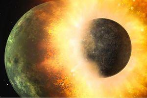 Siêu máy tính mô phỏng sự hình thành của Mặt Trăng